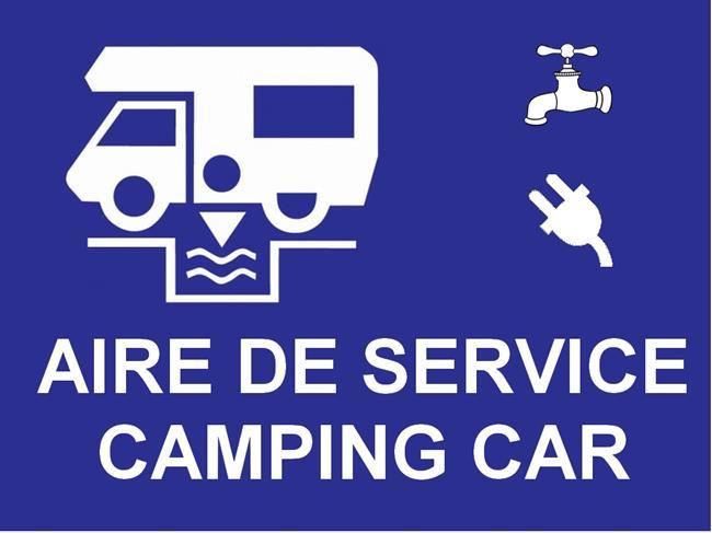 Aire de service camping