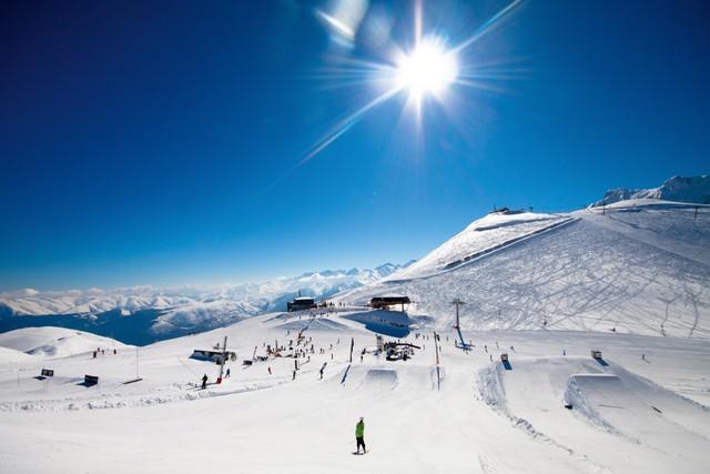 Saint lary-snowboard