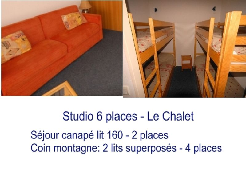 AGENCE BARROSO - LE CHALET 19 COUCHAGE
