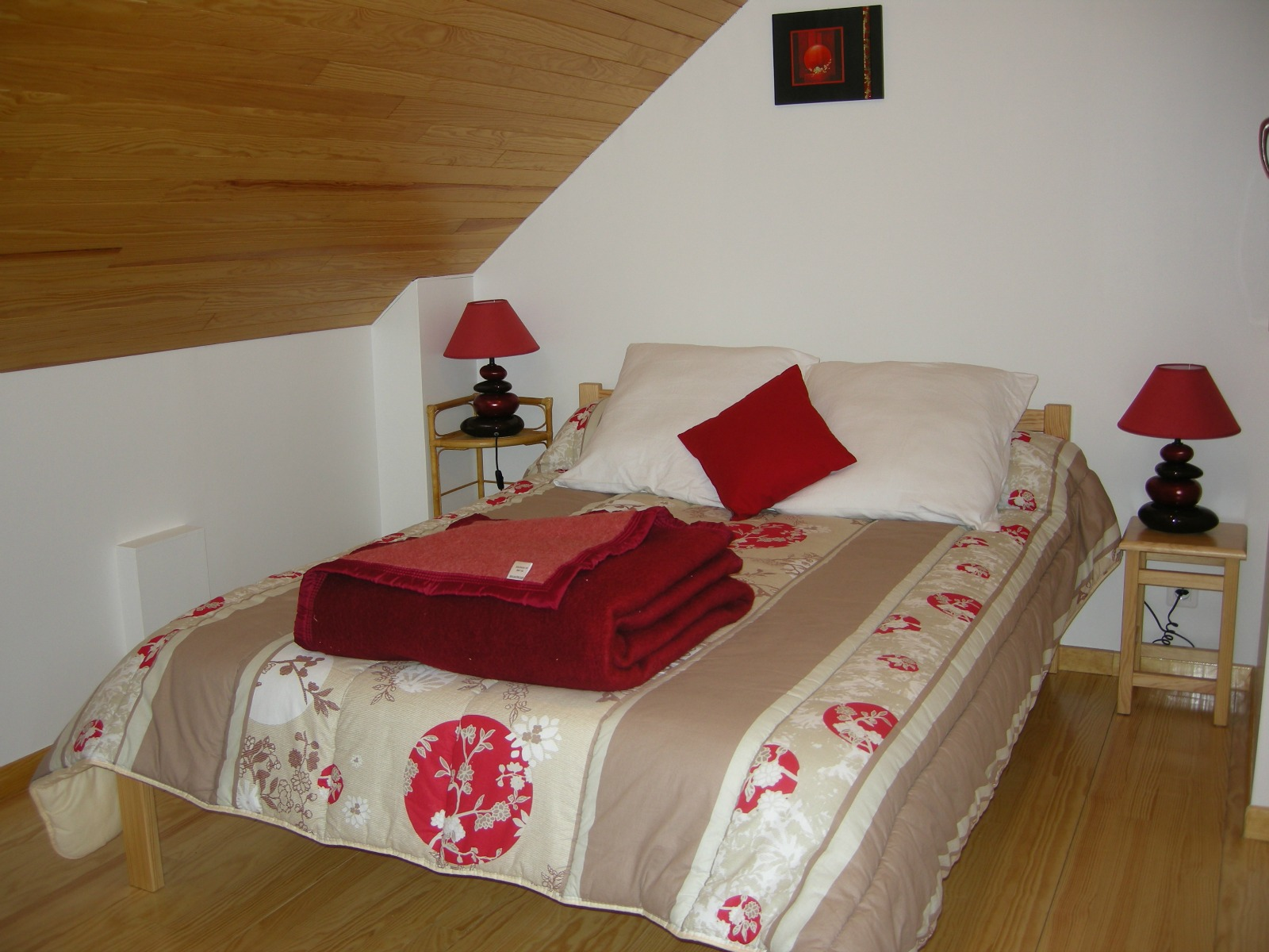 Appartement n°1 - Chambre