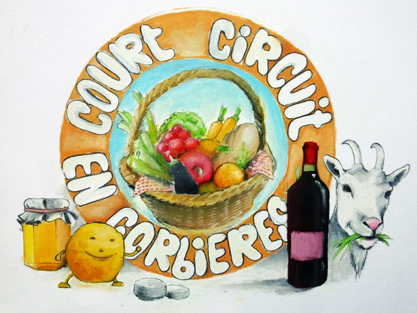 ASSOCIATION COURT CIRCUIT EN CORBIERES - LOGO