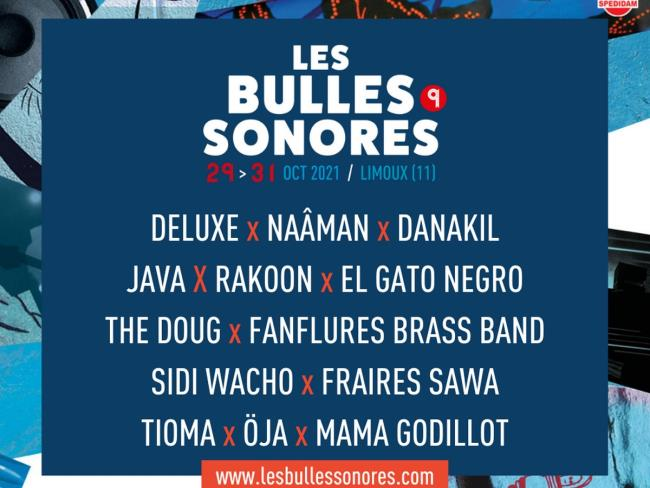 BULLES SONORES 2021