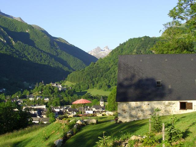 Grange Soulor_Vue Village d'Arrens