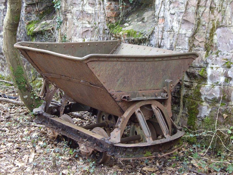 Les Mines de Larla - wagonnet du site industriel